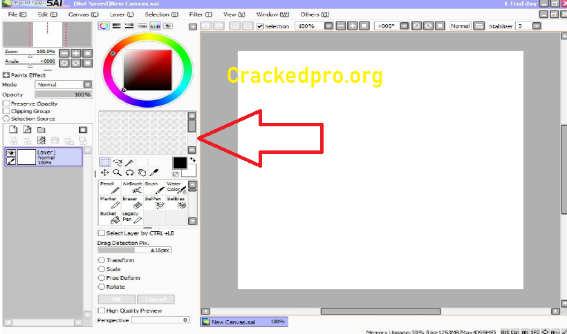 Paint Tool SAI Crack Download