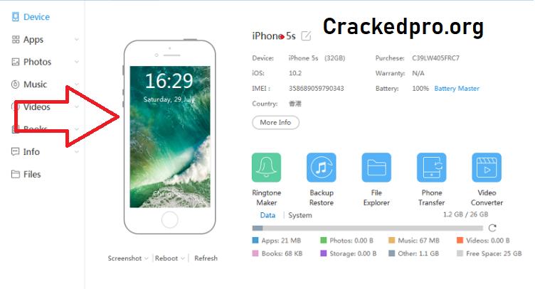 iTools Crack Free Download