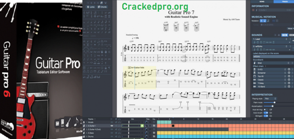 Guitar Pro Crack Free Download
