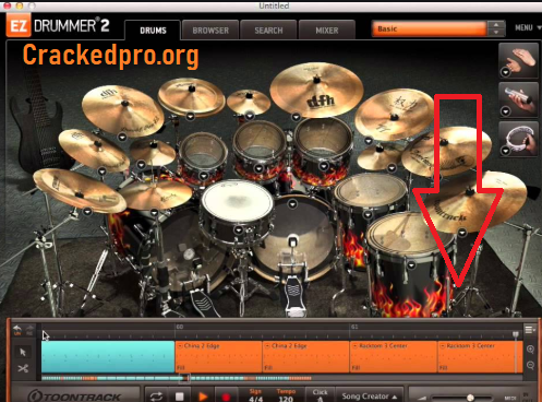 EZdrummer Crack Free Download
