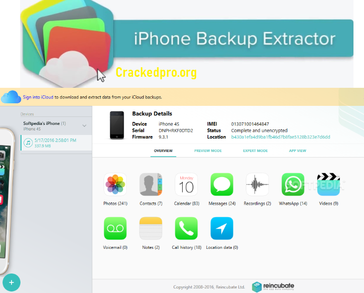 iPhone Backup Extractor Free Download